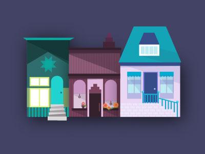 Lil Icelandic homes infographic map iceland reykjavik illustration stats facts flat uiux webdesign house popculture