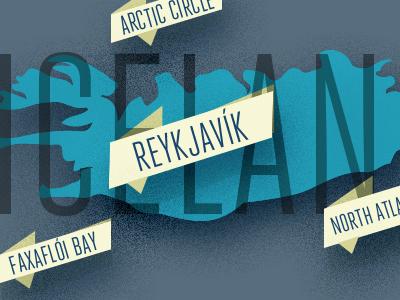 Iceland Infographic  infographic map iceland reykjavik illustration stats facts flat uiux webdesign