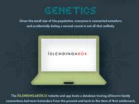 Genetics in Iceland