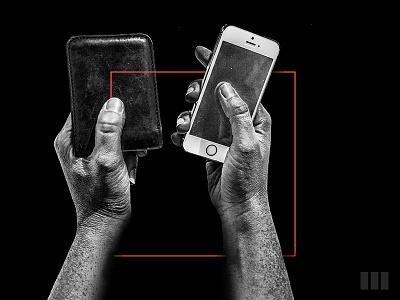 FinTech Intro | Social iphone money instagram apps fintech mobile blackandwhite