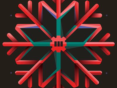 Tribar Snowflakes holidays snowflake christmas