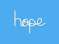 Hope Typography