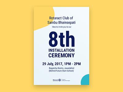 Invitation Card event design print invitation card