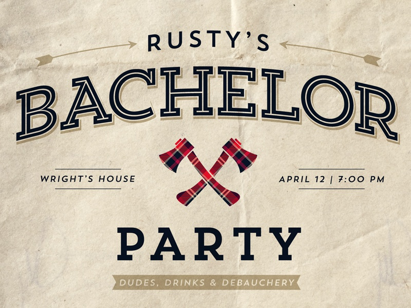 bachelor party invitations Josemulinohouseco