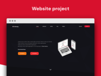 Website project for screen recording app