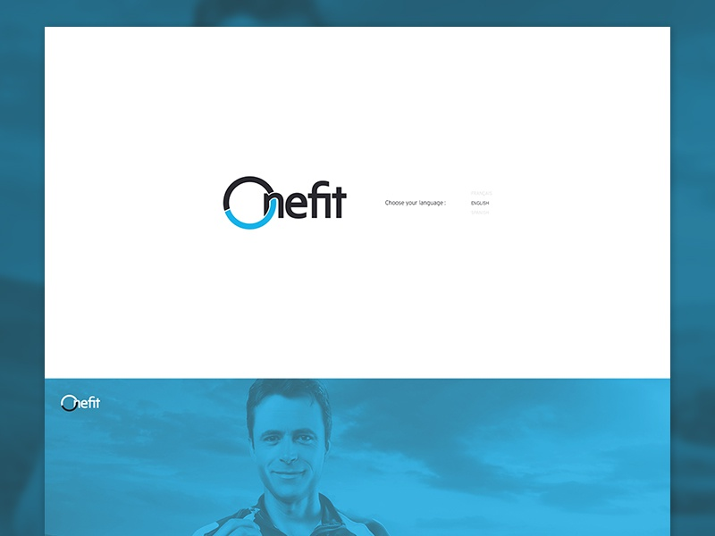 Onefit - Onepager onepager scroll ui design web fullscreen fixed map pin multilingual google maps side nav