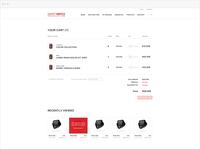 Smartwatch cart