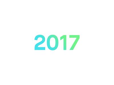 2017 2017 newyear gradient