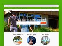 New Trulia homepage