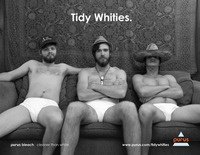 Tidy Whities Ad Campaign