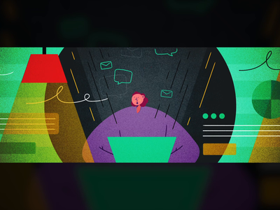 The Good, the Bad and the E-mail animation graphic design brand design design corporate design illustration