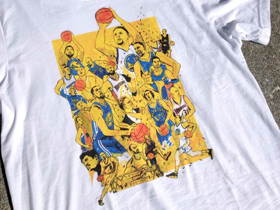 Warriors of Oakland- Commemorative T-Shirt