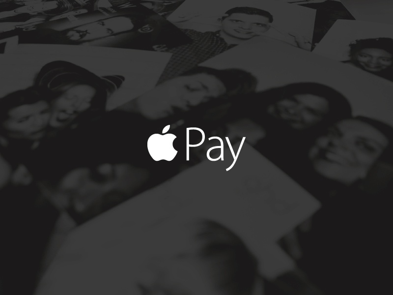 Apple Pay   pay clean ark design mockup free debut apple