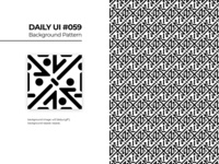 Daily UI #059 - Background Pattern