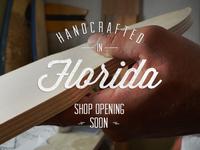 Shop opening soon