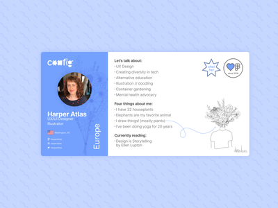 Daily UI - Day 006 illustration config userprofile figma design dailyui ui
