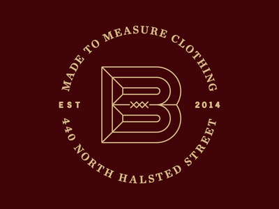Boulevardier Badge Update chicago suits tailor badge