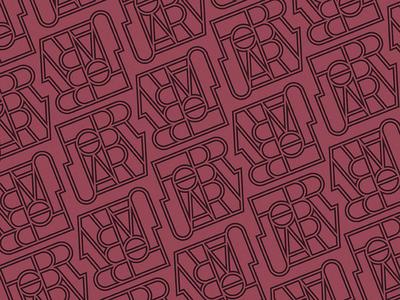 February Type Pattern