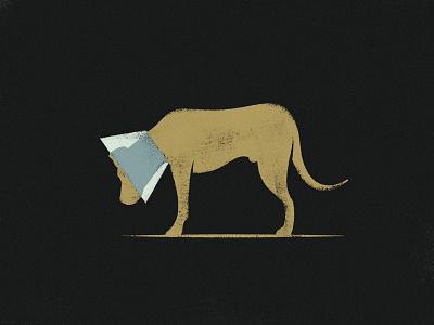 007 Hogan texture grit illustation canine dog