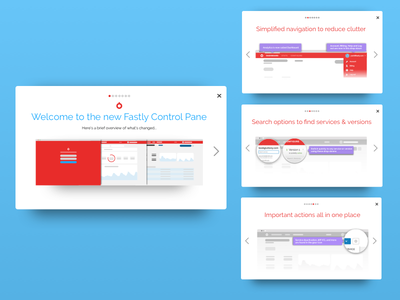 Whatsnew Dribbble get started onboarding carousel