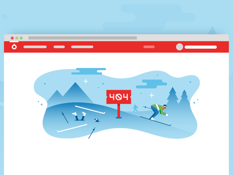 Fastly UI 404 page vector illustration ui ski 404 page 404 error 404