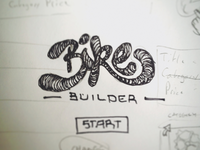 Bicycle Builder Sketches