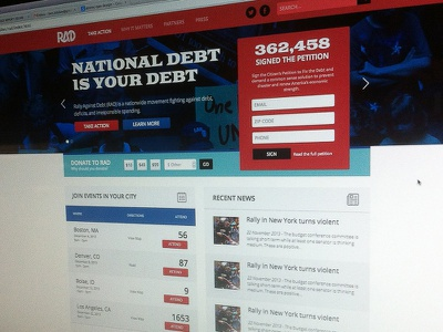 RAD Website Design website site design responsive rad