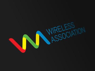 Wireless Association Logo association wholesale mobile idaho boise logo branding identity wireless