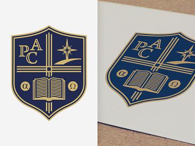 Shield Mark brand monogram logomark star bible book school idaho boise identity mark