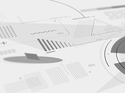Portion of the rebranding design rebranding shapes closeup rebrand branding