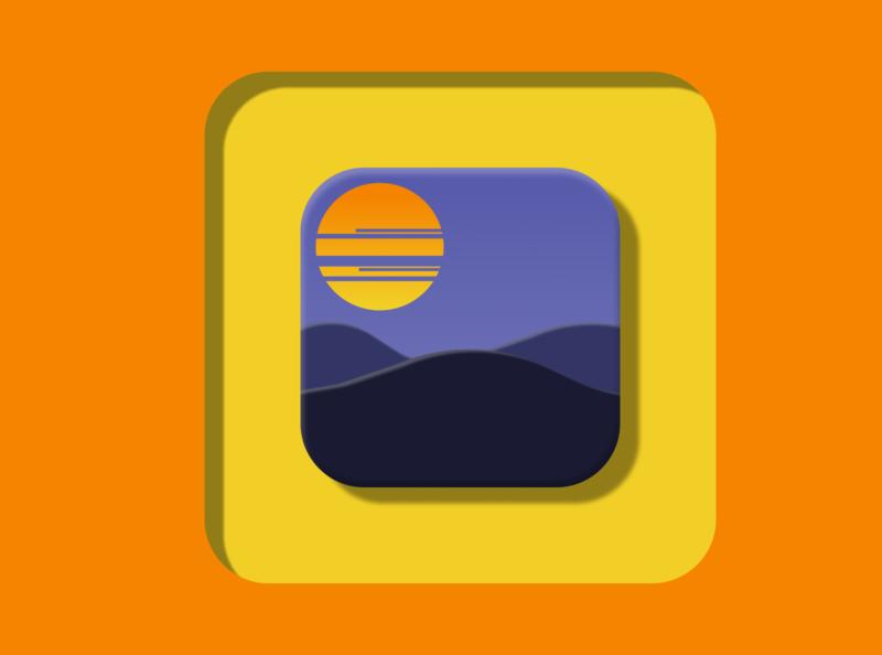 App Icon illustration vector ux ui design