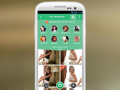 Photo-sharing GalaxyS3 concept