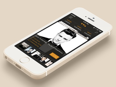 Whynot concept ios7 ios iphone iphone5 flat clean mobile