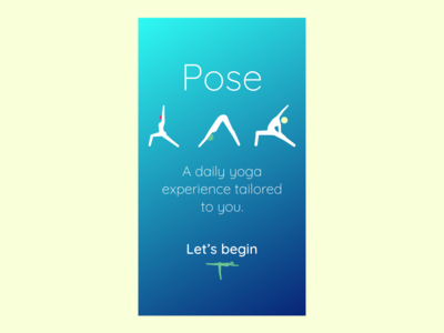 Yoga App Spash Screen