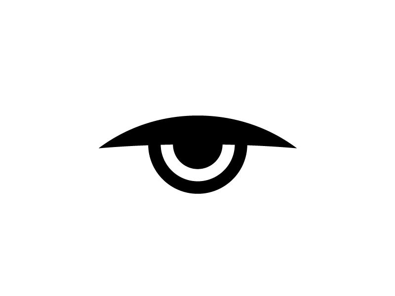 Evil Eye first shot debut icon design logo eye
