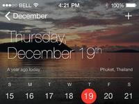 Apple calendar redux 2x