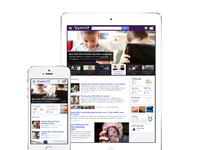 Yahoo mobile homepage
