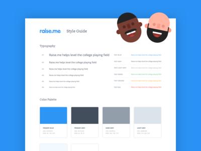 Raise.me Style Guide