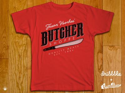 Butcher Shoppe horror friday the 13th butcher meats alexmdc oddworx