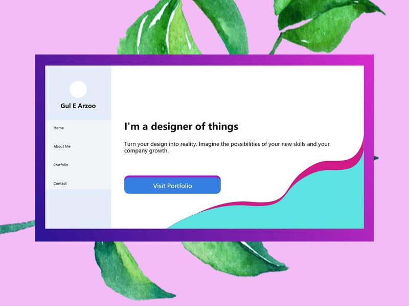Webpage UI web design ui ux