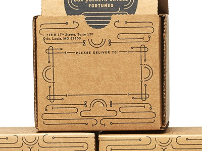 Good Fortune Screenprinted Boxes