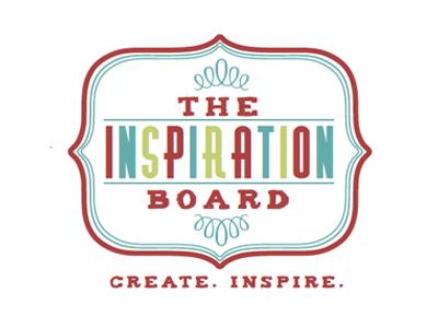 Inspiration Board Logo logo ornament color hand drawn