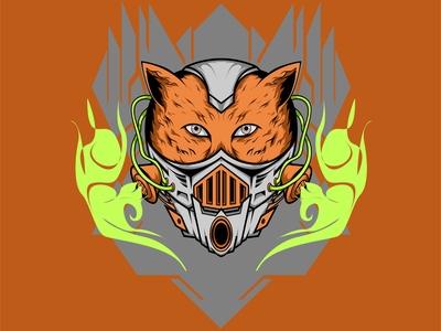 mecha masked animal