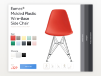 Customize Product ecommerce purchase checkout dailyui ui daily product customize eames