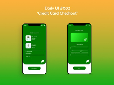 Daily UI #002 Credit Card Checkout adobe photoshop adobexd adobe xd figma credit card creditcard credit card checkout checkout page checkout ux ux  ui uidesign mobile design mobile ui dailyuichallenge daily ui dailyui ui