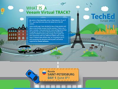 virtualtrack web graphic