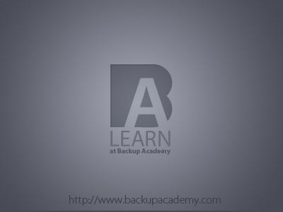 backup academy ID backup academy design logo