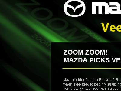 Zoom Zoom web design landing page webdesign