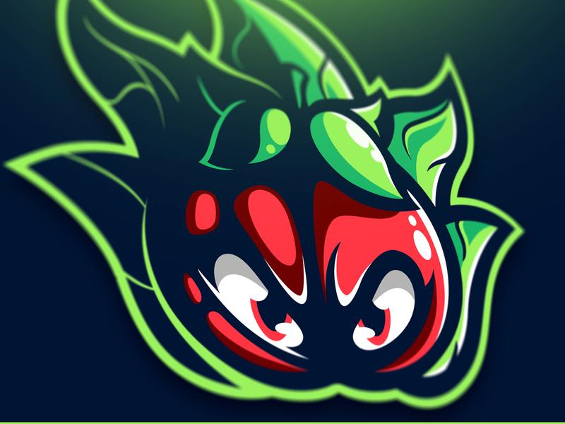 Salade Tomate eSport Madcot francais graphiste bretagne logo laureaux didier esport illustration mascot gaming