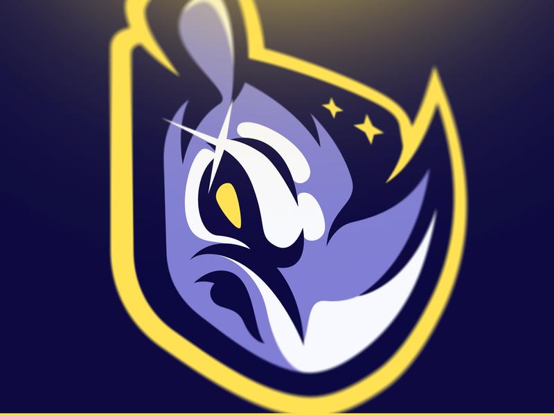 Rhino + Shield Mascot Concept morlaix bretagne laureaux didier logo gaming esport mascot logo mascot